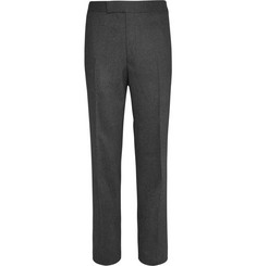Kingsman Light Grey Wool-Flannel Trousers