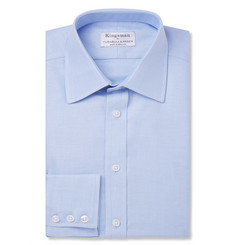 Kingsman Turnbull & Asser Blue Royal Oxford Cotton Shirt