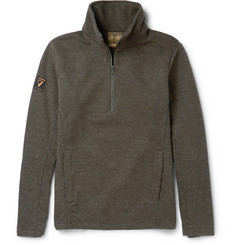 Musto Shooting Half-Zip Fleece-Backed Jersey Sweater