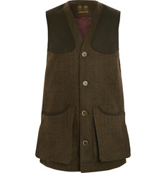 Musto Shooting Check Wool-Blend Tweed Gilet