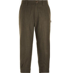 Musto Shooting Check Wool-Blend Tweed Cropped Breeks Trousers