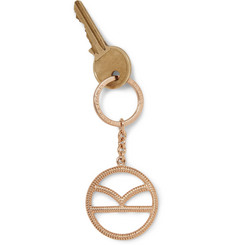 Kingsman + Deakin & Francis Rose Gold-Plated Keyring