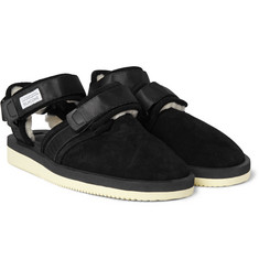 Suicoke Shearling Sandals