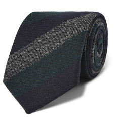 Kingsman + Drake's Striped Wool Tie
