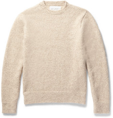 Our Legacy Slim-Fit Mélange Baby Alpaca-Blend Sweater