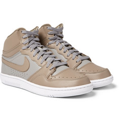Nike - + Undercover Court Force Leather High-Top Sneakers