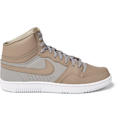 Nike + Undercover Court Force Leather High-Top Sneakers