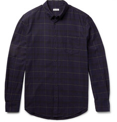 Steven Alan - Masters Slim-Fit Plaid Cotton-Flannel Shirt