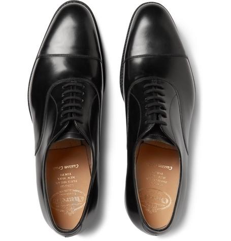 9487587d9a3 Church s Dubai Polished-Leather Oxford Shoes - Black