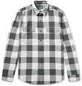 J.Crew - Slim-Fit Buffalo Checked Cotton-Flannel Shirt