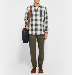 J.Crew Slim-Fit Buffalo Checked Cotton-Flannel Shirt