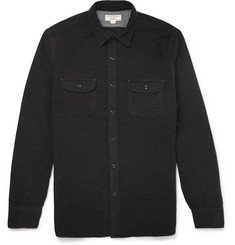 J.Crew Wallace & Barnes Brushed-Cotton Overshirt