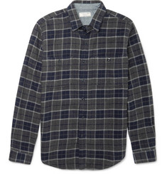 J.Crew - Wallace & Barnes Lenox Checked Cotton-Flannel Shirt