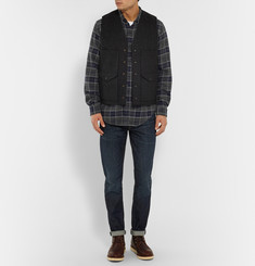J.Crew Wallace & Barnes Lenox Checked Cotton-Flannel Shirt