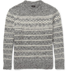 J.Crew - Fair Isle Wool-Blend Sweater