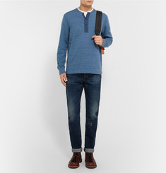 J.Crew Coastal Cotton-Blend Jersey Sweatshirt