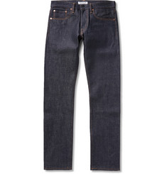 Ron Herman Slim-Fit Indigo Raw Japanese Denim Jeans