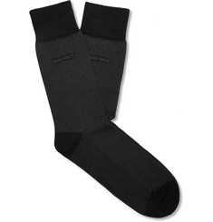 Hugo Boss - Cotton-Blend Socks