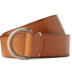 Hugo Boss 4cm Tan Casier Leather Belt