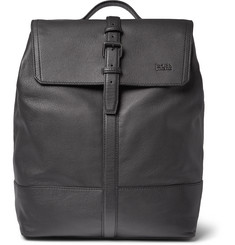 Hugo Boss Leather Backpack