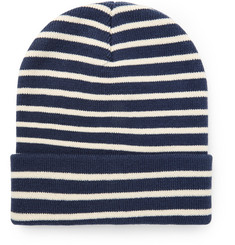 J.Crew Striped Knitted Beanie