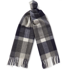 J.Crew - Checked Cashmere Scarf