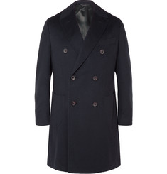 Thom Sweeney Maddox Double-Breasted Cashmere Coat
