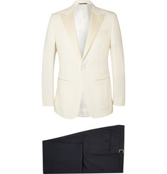 Thom Sweeney - Two-Tone Slim-Fit Wool Tuxedo