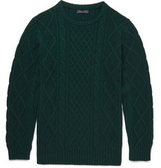 Thom Sweeney - Holly Cable-Knit Cashmere Sweater