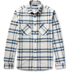 Alex Mill Chore Checked Cotton-Flannel Shirt