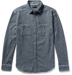 Alex Mill Gingham Cotton-Flannel Shirt