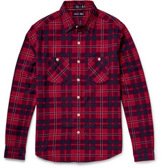 Alex Mill - Checked Cotton-Flannel Shirt