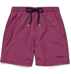 Vilebrequin Moorea Gingham Mid-Length Swim Shorts
