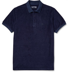 Vilebrequin Cotton-Blend Terry Polo Shirt
