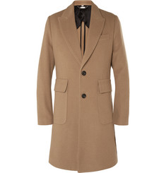 Hardy Amies - Slim-Fit Brushed-Cashmere Overcoat