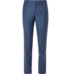 Paul Smith London Blue Soho Slim-Fit Wool Suit Trousers