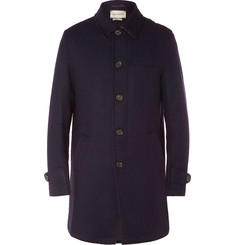 Oliver Spencer Wool Overcoat