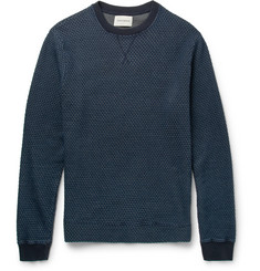 Oliver Spencer Helder Cotton-Jacquard Sweater