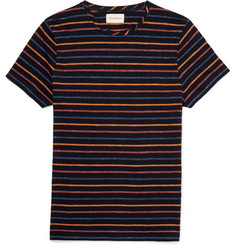 Oliver Spencer - Striped Cotton-Jersey T-Shirt