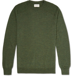 Oliver Spencer Blade Slim-Fit Virgin Wool Sweater
