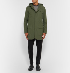 Oliver Spencer - Sleaford Slim-Fit Hooded Cotton-Canvas Parka