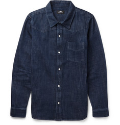 A.P.C. - Slim-Fit Denim Shirt