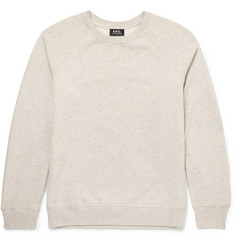 A.P.C. - Loopback Cotton-Jersey Sweatshirt