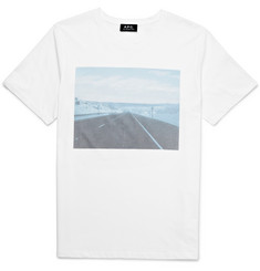 A.P.C. - Slim-Fit Printed Cotton-Jersey T-Shirt
