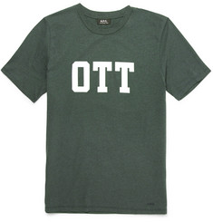 A.P.C. - OTT Slim-Fit Printed Cotton-Jersey T-Shirt