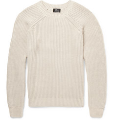 A.P.C. Cable-Knit Cotton Sweater