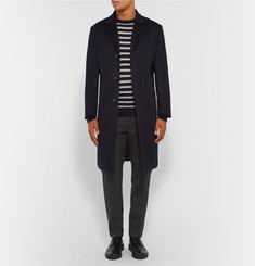 A.P.C. Slim-Fit Breton-Striped Cashmere Sweater