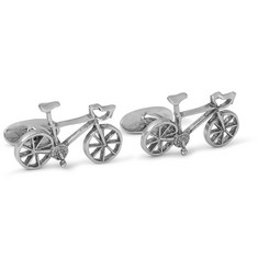 Paul Smith Silver-Tone Bicycle Cufflinks