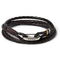 Paul Smith Shoes & Accessories - Woven Leather Wrap Bracelet