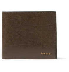Paul Smith Shoes & Accessories Textured-Leather Billfold Wallet
